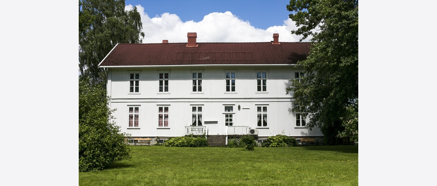 Hagen sommeren 2107. Foto: Åse Holte | Asplan Viak