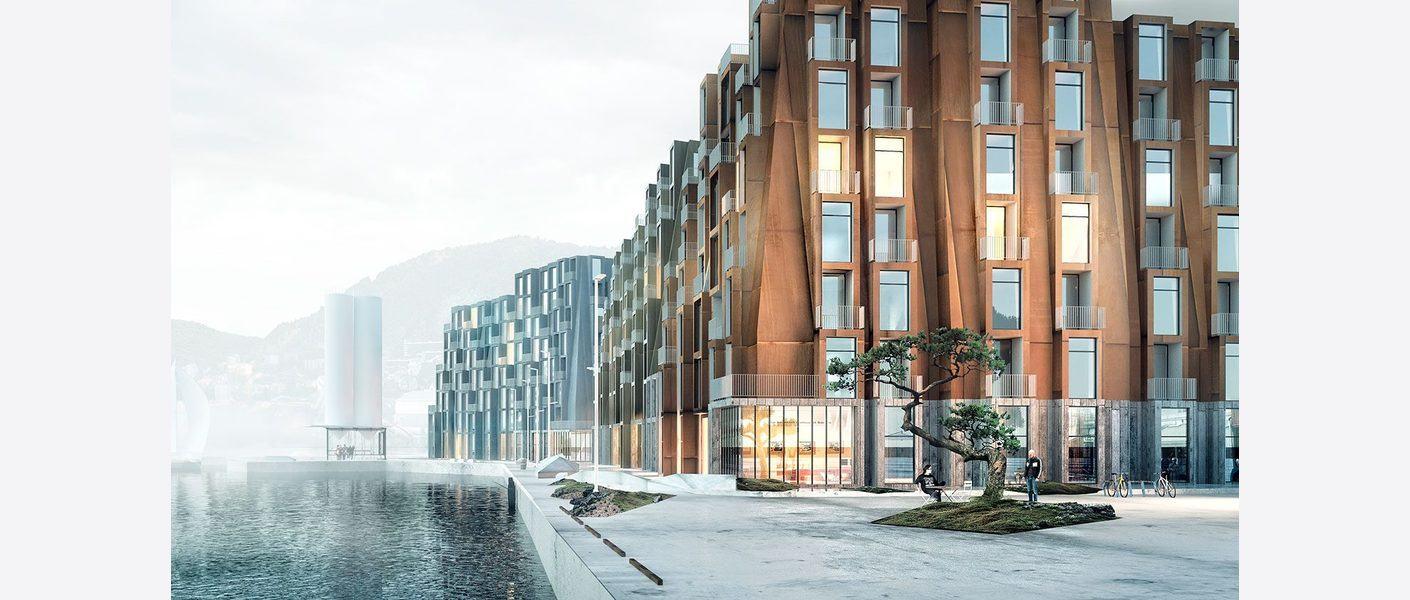 Nordsjøryggen dag. Illustrasjon: Asplan Viak / MAD / Adrian Ukleja