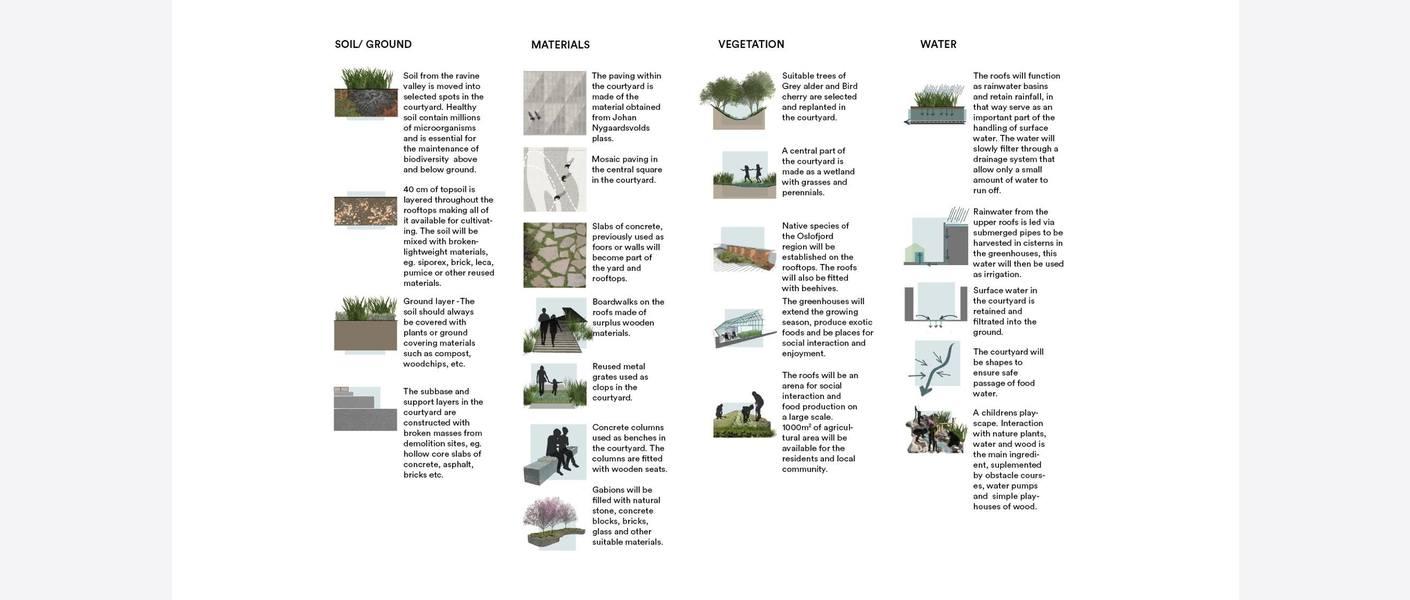 Naturtyper. Illustrasjon: MAD arkitekter, Asplan Viak og Landskap +.