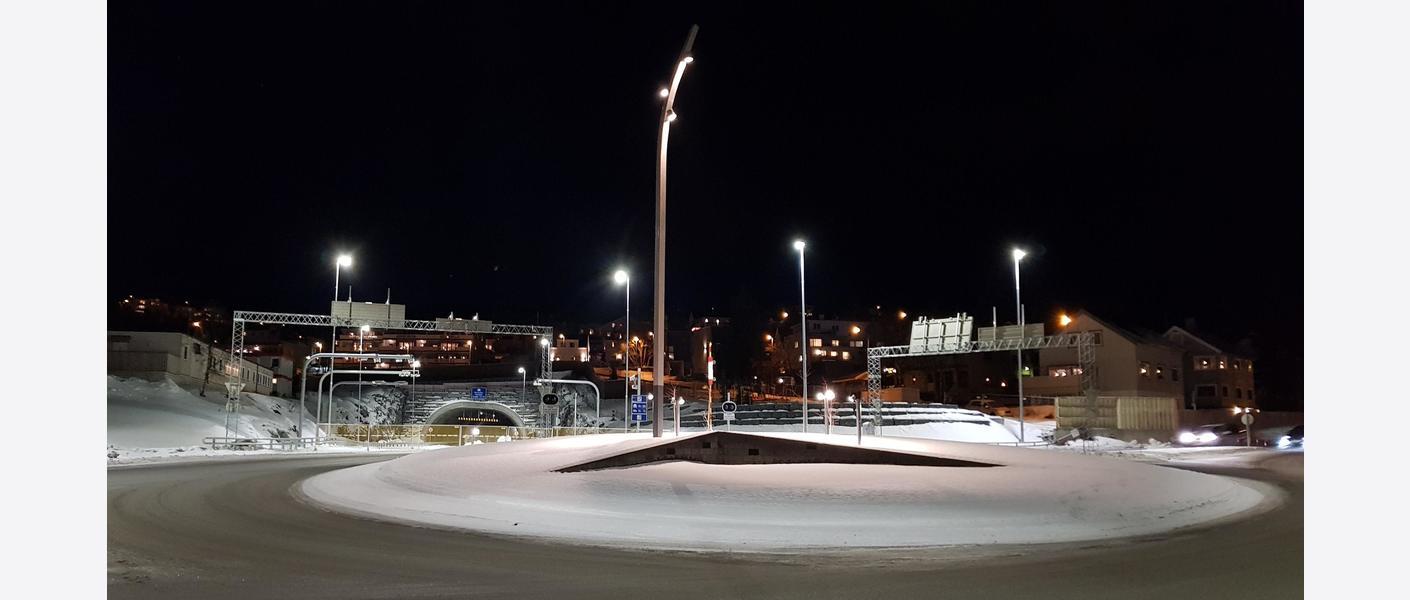 Portalåpning Seljestad. Foto: Asplan Viak