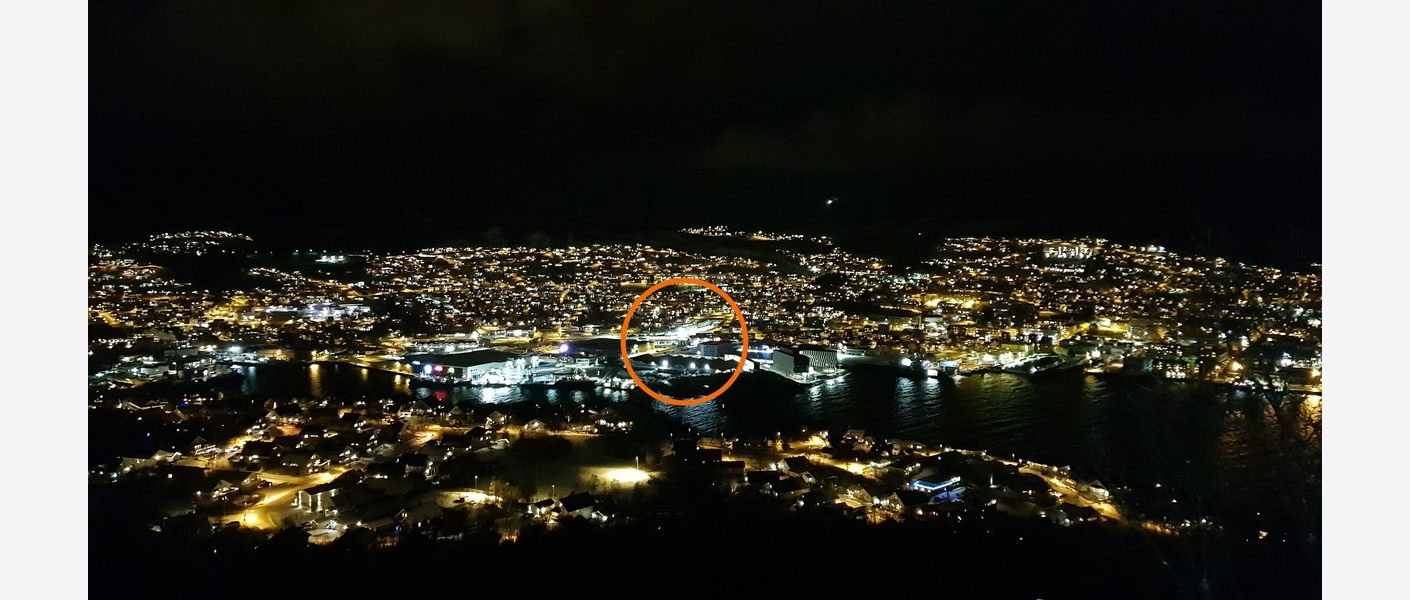 Oversiktsbilde fra Ganåstoppen. Foto: Asplan Viak