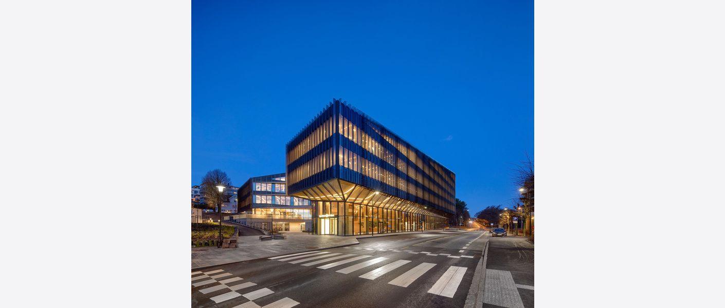 Finansparken. Foto: Sindre Ellingsen