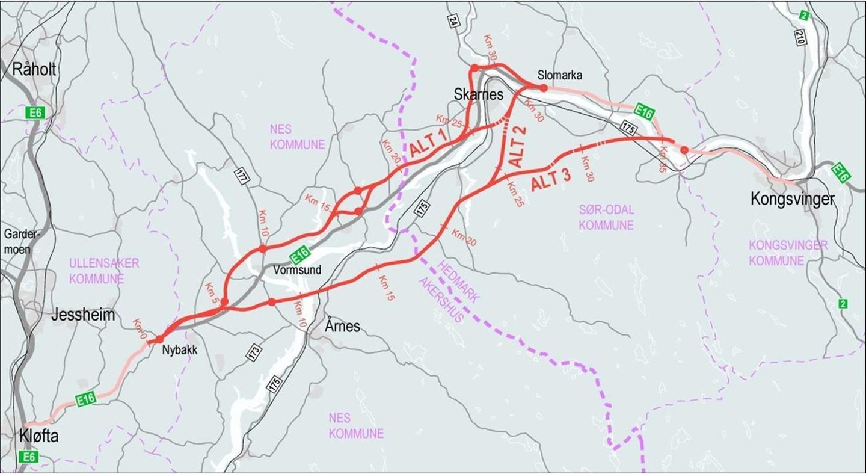 Asplan Viak Og Ramboll Landet Stor E16 Kontrakt Hos Nye Veier