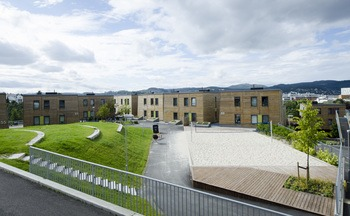 Berg studentby