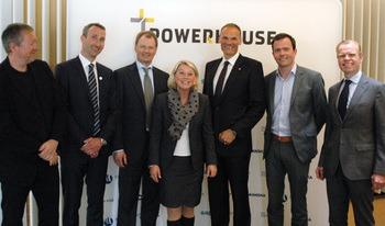 Powerhouse - kontorbygg med skyhøye miljøambisjoner åpnet i Kjørboparken