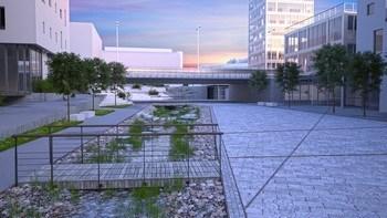 Områdeplan for Knarvik sentrum følges via 3D