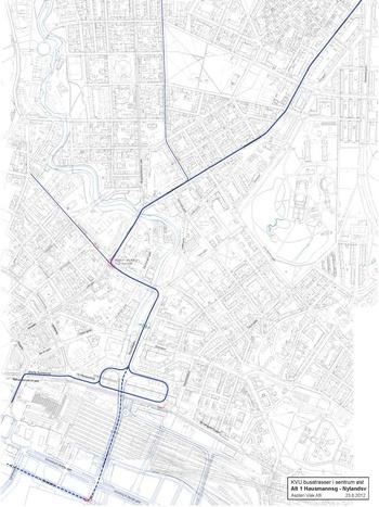 KVU for alternative busstraseer fra Oslo nord til sentrum