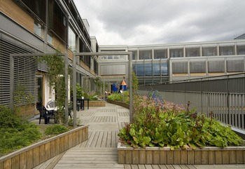 Gårdshage Kvinne- barnsenteret St. Olavs Hospital