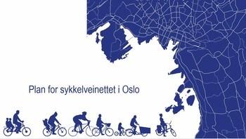 Forslag til nytt sykkelvegnett for Oslo presentert
