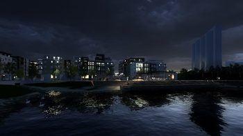 Visualisering Slemmestad Brygge
