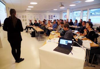 Fullsatt strategiseminar i Bergen