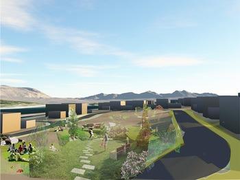 Asplan Viak har levert løsningsforslag til en ny bydel i Tromsø