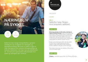 Norsk næringsliv tar sykkelveien til Fornebu