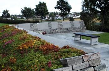 Nøtterøy kirkegård - navnet minnelund