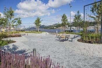 Lille Havnepark Sandnes indre havn