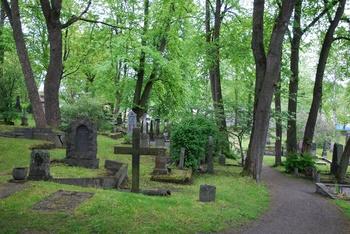 Rammegravene på Domkirkegården i Trondheim