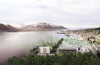 Konseptutredning – Innovativ energiløsning for området Kræmer Brygge i Tromsø