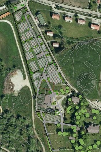 Ørland kirkegård, utvidelse