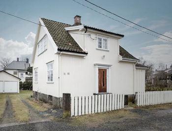Rehabilitering av gamle hus gir klimagevinst