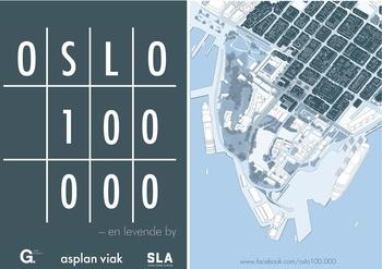 Hvor mange mennesker kan det bo i Oslo sentrum?