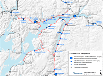 Reiseliv og infrastruktur, Hordaland