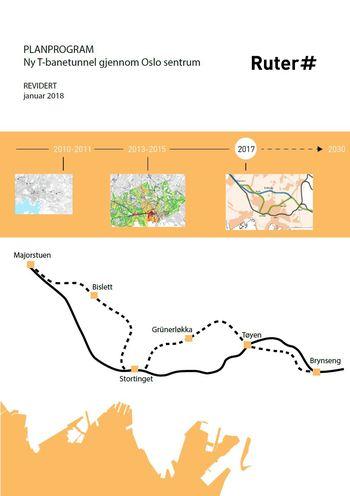 Planprogram - Ny T-banetunnel gjennom Oslo sentrum