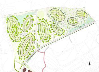 Lørenskog kirkegård - Forprosjekt, utvidelse - byggetrinn 1
