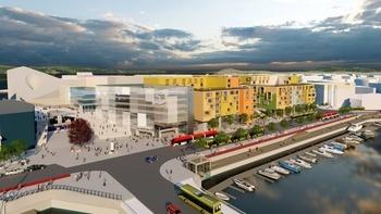 Opplev  Trondheims nye  sentralstasjon