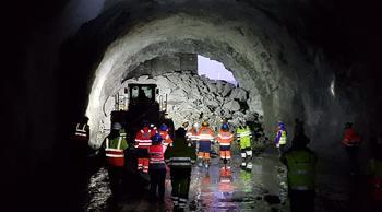 Gjennomslag i ny sykehus-tunnel i Narvik