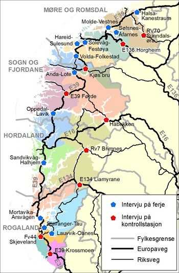 Godsundersøking for Vestlandet