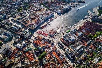 Asplan Viak videre i konkurransen om utforming av sentrale byrom i Bergen