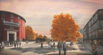Asplan Viaks forslag til fremtidsbyen Trondheim