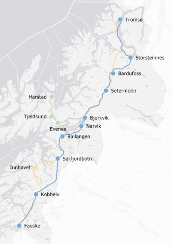 Utredning Nord-Norgebanen