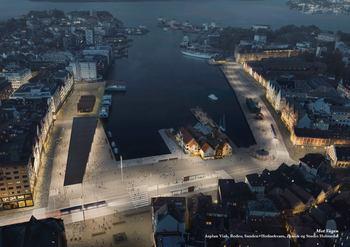 «Mot Vågen» er kåret til vinner av konkurransen om utforming av Torget og Bryggen i Bergen