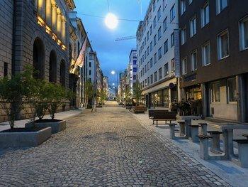 Asplan Viak har rehabilitert Øvre Slottsgate