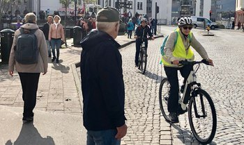 - Vi vil gjøre Ålesund til en av landets beste sykkelbyer!