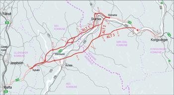 Asplan Viak og Rambøll landet stor E16-kontrakt hos Nye Veier