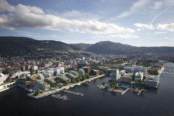 Asplan Viak med partnere skal utvikle Dokken som ny Bergensbydel