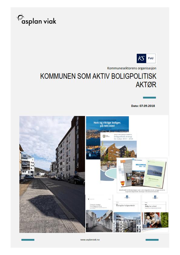 Fersk Asplan Viak- rapport anbefaler at de statlige planretningslinjene for samordnet bolig- areal og transportplanlegging revideres med sikte på å integrere bolig for alle, sosioøkonomiske hensyn og sosial bærekraft som tydeligere hensyn i retningslinjene.