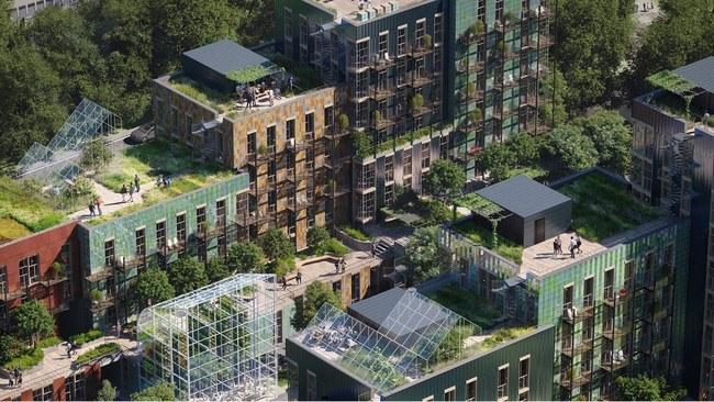 Reinventing Cities. Illustrasjon: MAD arkitekter, Asplan Viak og Landskap +.
