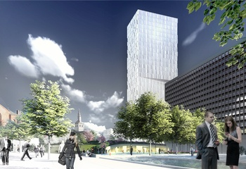 Det nye Regjeringskvartalet - Asplan Viak lanserer Norges nye Byhage /