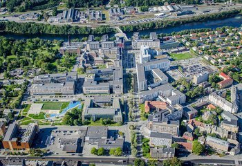 Trondheim/St. Olavs Hospital Attraktiv by 2015 / Foto: synlig.no