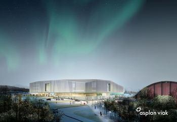 Tromsøbadet - et av de beste badeanleggene i Norge / Illustrasjon: Asplan Viak
