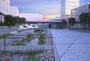 Områdeplan for Knarvik sentrum følges via 3D /