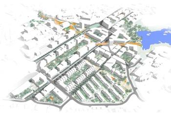 A tale of two tettsteder - Nøkkelen til kompleks byutvikling / Illustrasjon: Asplan Viak
