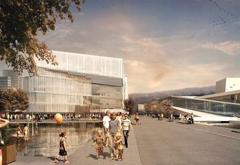 Kulturbyggene i Bjørvika: Nye Deichmanske hovedbibliotek