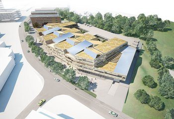 Asplan Viak med på vinnerteamet i Lyse-konkurransen / Illustrasjon: LPO arkitekter