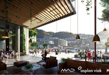 Konferanse om fremtidens Bergen / Illustrasjon: Asplan Viak, MAD arkitekter, MIR.