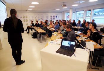 Fullsatt strategiseminar i Bergen / Foto: Asplan Viak