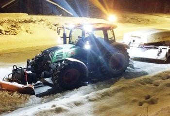 Vinterdrift av gang- og sykkelveger / Foto: Asplan Viak
